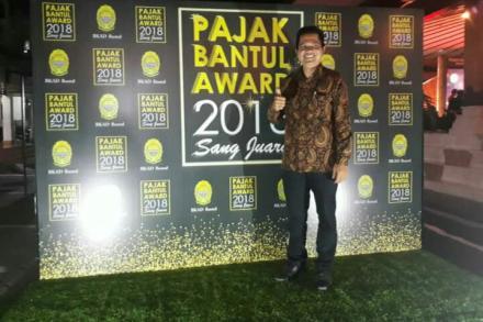 Jambon Terpilih Menjadi Salah Satu Nominasi Penerima Piala Pajak Bantul Award 2018