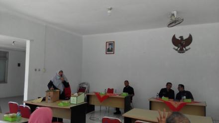 Pelatihan Arsip Bagi Petugas Arsip dan Seksi Pemerintahan