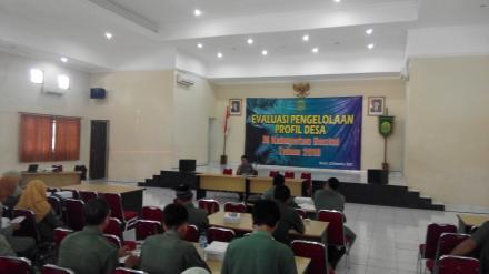Evaluasi Pendataan Profil Desa di Kabupaten Bantul