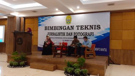Lagi, Kominfo Bantul Adakan Bimtek Fotografi dan Jurnalistik