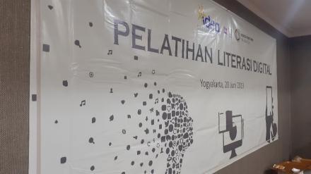 Pelatihan Literasi Digital Menuju Data Terbuka