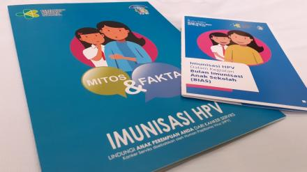 Sosialisasi dan Penjadwalan Imunisasi HPV Puskesmas Pleret