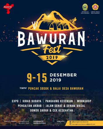 Monggo... Ada Bawuran Festival Lho..