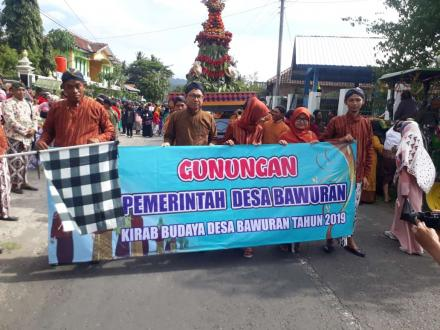 Sukses, Perdana Kirab Budaya Bawuran Fest