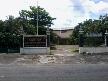 Kantor Lurah Desa Bawuran