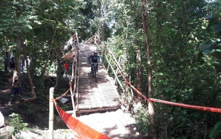 Salah satu trek Downhill